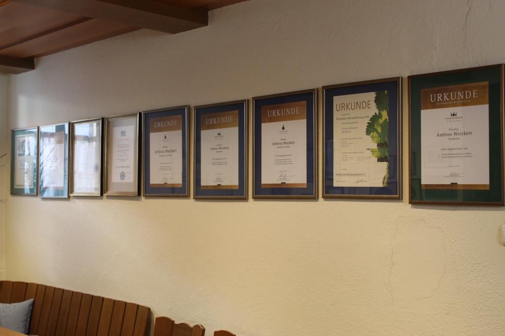 Prämierungen und Auszeichnungen